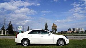 2006 Cadillac CTS Leather Sunroof Two Tone Leather Pearl White