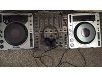 Pioneer CDJ 800's and DJM 600 - USED - Perfect Working Condition