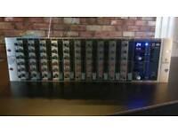 Behringer RX1202FX 12 channel rack mixer
