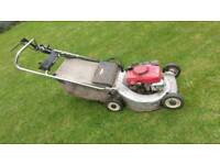 Honda hr214 petrol eelf propelled lawn mower