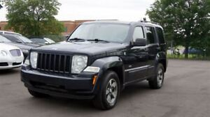 2008 Jeep Liberty 4WD * 6 SPEED MANUAL * FINANCING AVAILABLE