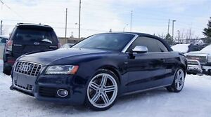 2010 Audi S5 CONVERTIBLE CABRIOLET* 3.0 L V6 TURBO* PUSH START