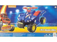 Blaze and the Monster Machine Ride on Quad Bike 6v Brand New in Box