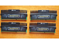 Corsair Vengeance DDR3 16gb (4x4gb) 1600Mhz