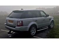 Land Rover RANGE ROVER SPORT 2.7 TDV6 HSE AUTO FSH diesel cheap road tax 4x4 4wd X5 X6 Q7 3.0 3.6