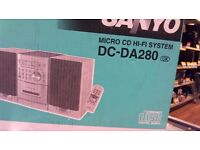 SANYO DC-DA280 HIFI SYSTEM