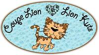 COUPE LION / LION KUTS - CAT SALON