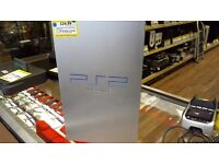 SONY PS2 SILVER CONSOLE