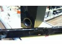 LG BLUETOOTH SURROUND SOUND BAR AND SUB-WOOFER, FULL 6 MONTHS WARRANTY
