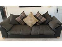 Sofa 3 seater and chair
