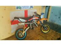Road legal pit bike 125cc 2008 enduro not off road ktm 85cc moped scooter mx sm 50cc project