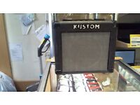 KUSTOM GUITAR AMPLIFIER USED CONDITION COMES WITH 6 MONTHS WARRANTY