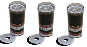 3 X AWESOME WATER FILTERS 8 STAGE PURIFIER PRESTIGE DISPENSER CARTRIDGE