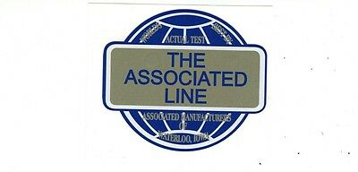 The Associated Line Amanco Gas Engine Motor Hit Miss Decal