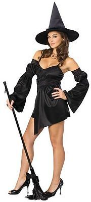 Black Cauldron Witch Wicked Gothic Cute Dress Up Halloween Sexy Adult - Cauldron Witch Adult Costume