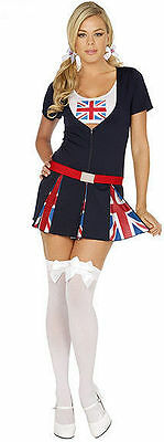 Adult ENGLISH PRINCESS Flag Halloween Elegant Moments Women Costume 9266 Cosplay - English Halloween Costumes