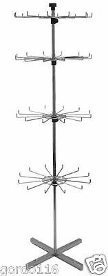 Display Spinning Rack Revolving Spinner Rotating Racks 4 Tier NIB 48 item candy