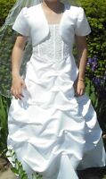 """Elegant Flower Girl or Communion Dress"""