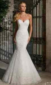 Mori Lee Lace Fit and Flare