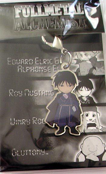 Fullmetal Alchemist Roy Fastener Anime Manga MINT
