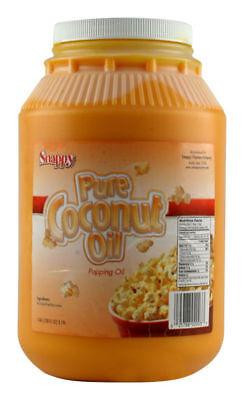 New Colored Coconut Oil 1 Gallon Popcorn Popping Oil