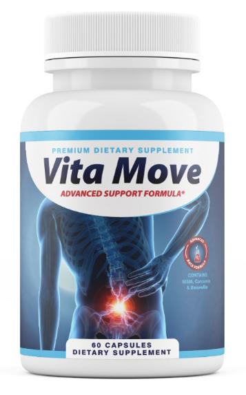 Vita Move Advanced Support Formula Vitamove 60 Capsules
