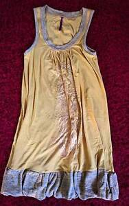 Mustard and gold dress Sumner Brisbane South West Preview