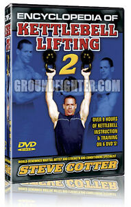 Steve Cotter Encyclopedia of Kettlebells Series 2 DVDs