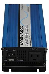 300W 24V Pure Sine Power Inverter with Cables