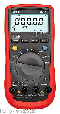 1pcs Uni-t Unit Ut-61e Ut61e Digital Mutimeter Tester Dmm Ac Dc Volt New