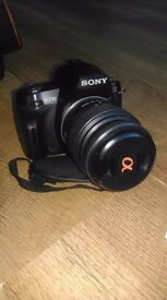 Sony alpha A230 10.2 mp Camera and Accessories