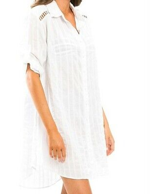 Jets by Jessika Allen Shirt Dress size S(10-12)
