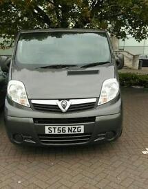 Vauxhall vivaro 1.9 crew cab crew van