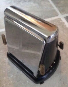 Antique / Vintage Toaster with Flip Down Sides