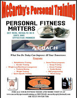 Come see us for all your fitness needs