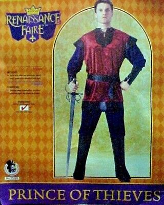 Prince of Thieves Renaissance Adult Costume complete halloween Robin Hood](Robin Hood Prince Of Thieves Costume)