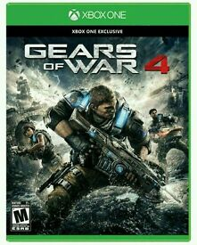 Gears of war 4 plus all 4 previous gears of wars