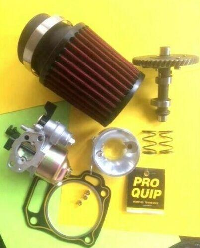 Predator Clone 212cc Stage 3 mod3 Cam Carburetor Intake Filter Jet Springs USA