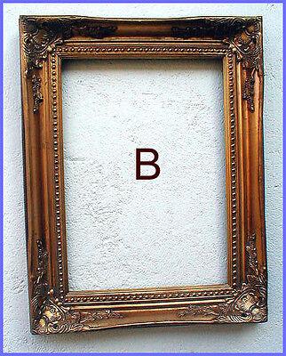 antik2000 Gemaelde Gemälde Bild Barock Holz Gold Stuck Rahmen Bilderrahmen B