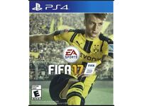 PS4 game: FIFA 17