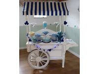 Candy Cart / Sweet Cart Hire Northamptonshire - Events, Weddings, Parties