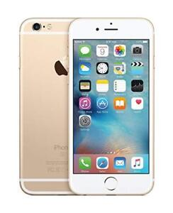 GOLD USED 9.5/10 CONDITION UNLOCK I PHONE 6 16GB FOR SALE.
