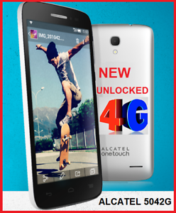 NEW ALCATEL 5042G  4G UNLOCKED  4.5 INCH 5MPX CAMERA $75