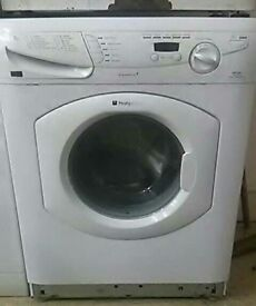 (refurbished) Hotpoint WF740 6kg washing machine - white