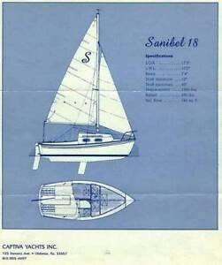 Sanibel 18 trailer sailer - Perfect Xmas present for your hubby