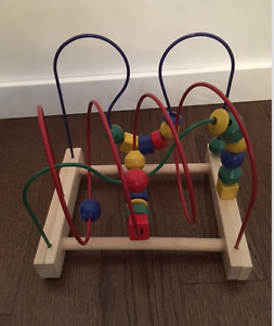 IKEA 'MULA' BEAD ROLLER COASTER IN LIKE NEW CONDITION!!