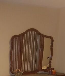 Framed Mirror - French Provincial 3 sided