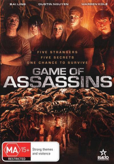 Game of Assassins  - DVD - NEW Region 4