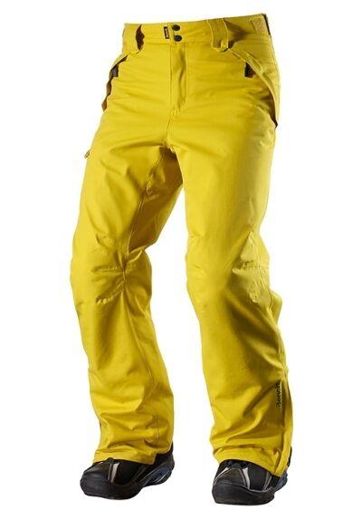 Bench TEMPER Herren Skihose Snowboardhose Wintersport gelb L, XL