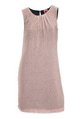 TRAVEL COUTURE  von  Heine  Kleid  Tupfenkleid  Rosa  Schwarz  Gr. 34, 36  Neu  Couture-kleid Schwarz